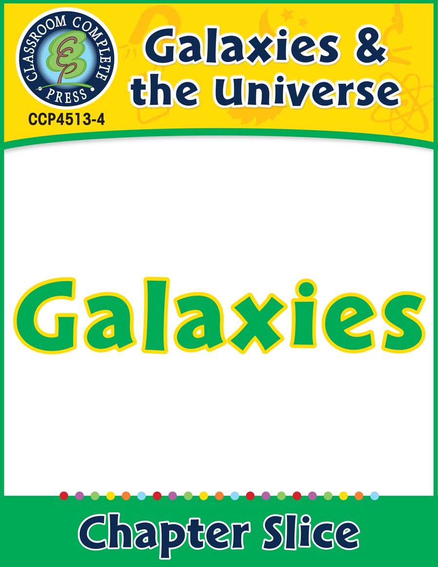 Galaxies & The Universe: Galaxies Gr. 5-8 - Chapter Slice eBook