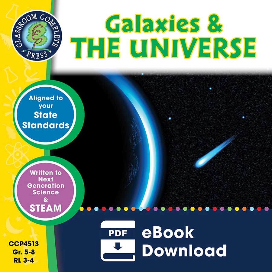 Galaxies & The Universe Gr. 5-8 - eBook