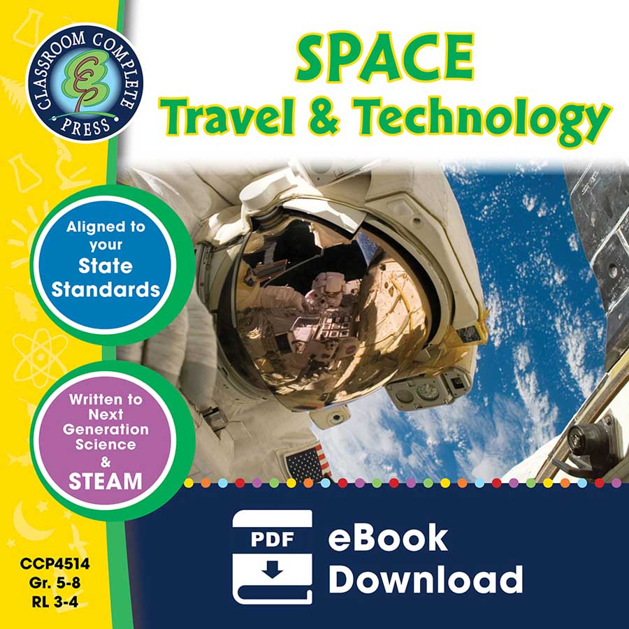 Space Travel & Technology Gr. 5-8 - eBook