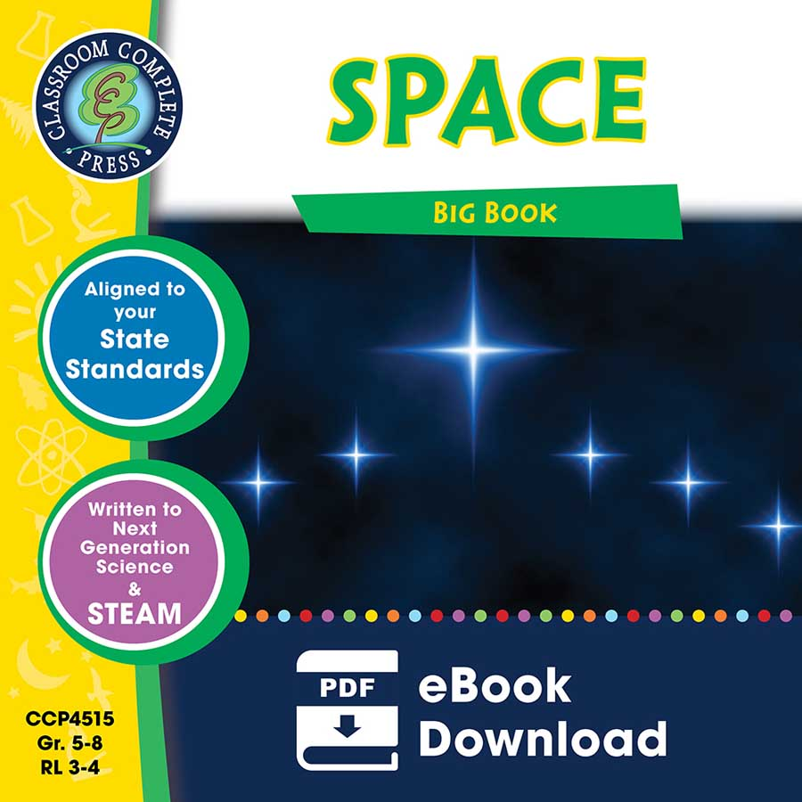 Space Big Book Gr. 5-8 - eBook