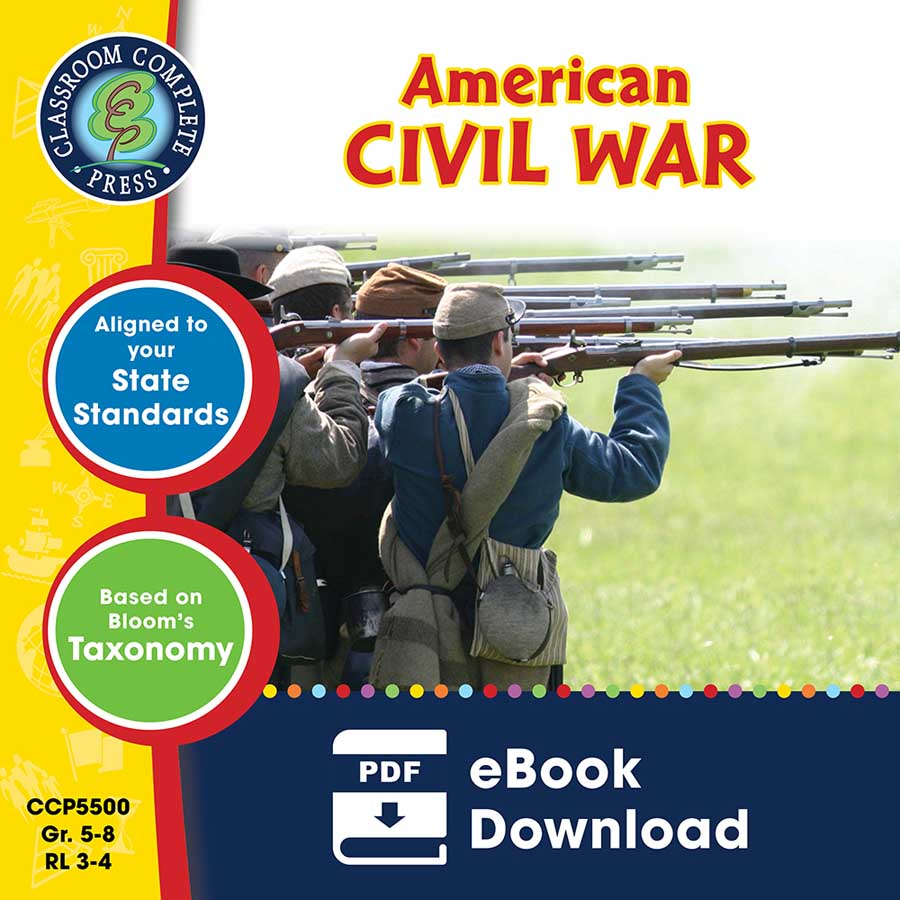 American Civil War Gr. 5-8 - eBook