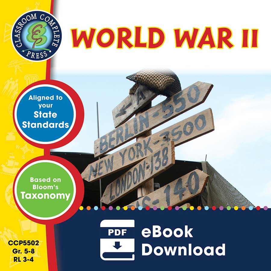World War 2 Gr. 5-8 - eBook