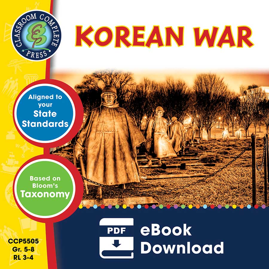 Korean War Gr. 5-8 - eBook