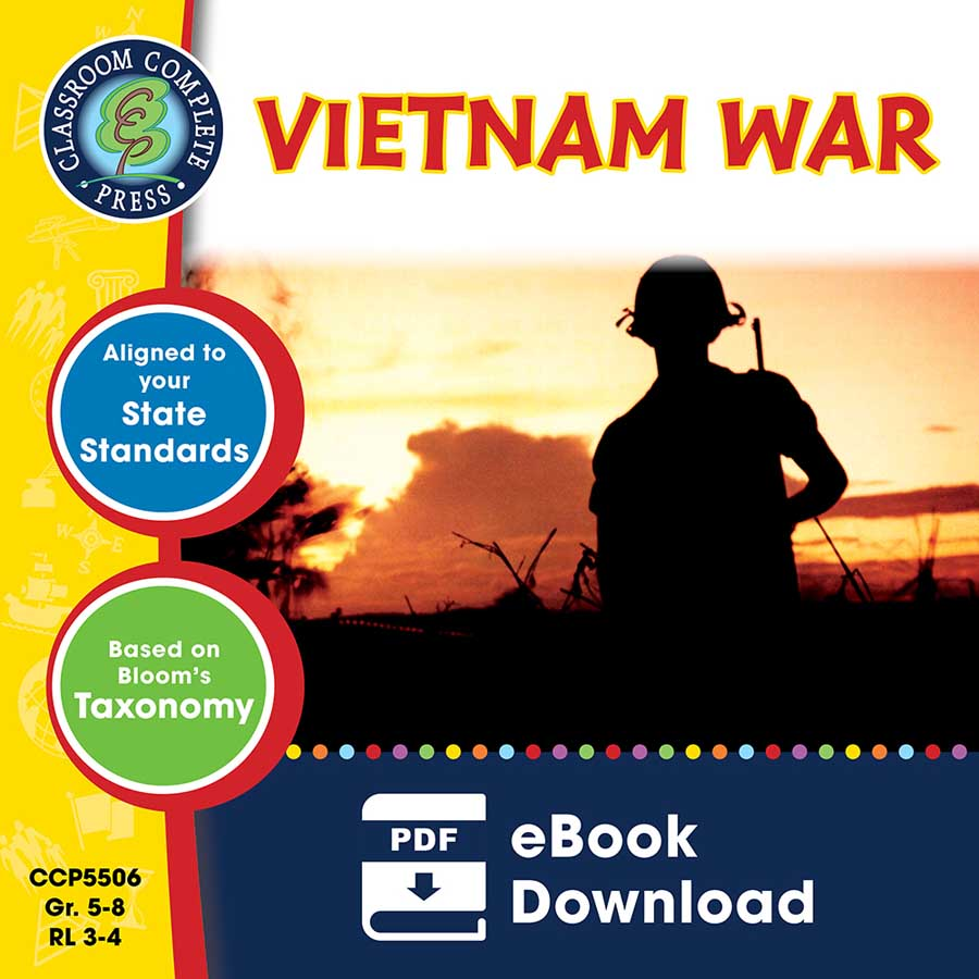 Vietnam War Gr. 5-8 - eBook