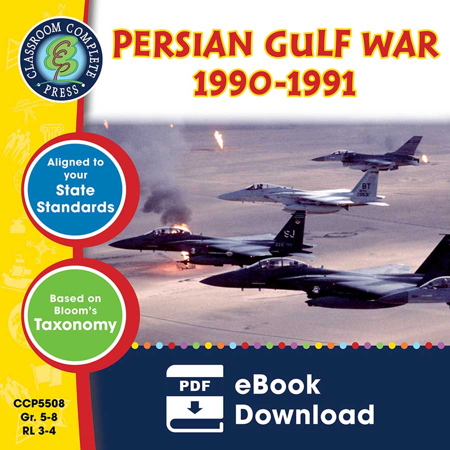 Persian Gulf War (1990-1991) Gr. 5-8 - eBook