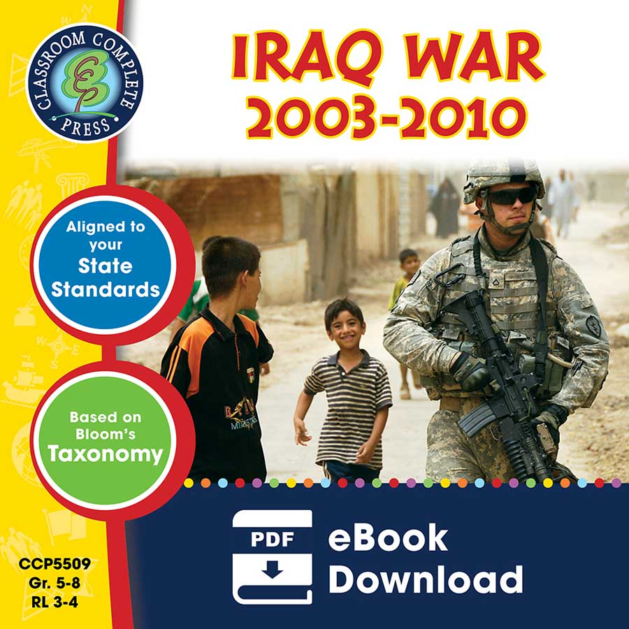 Iraq War (2003-2010) Gr. 5-8 - eBook