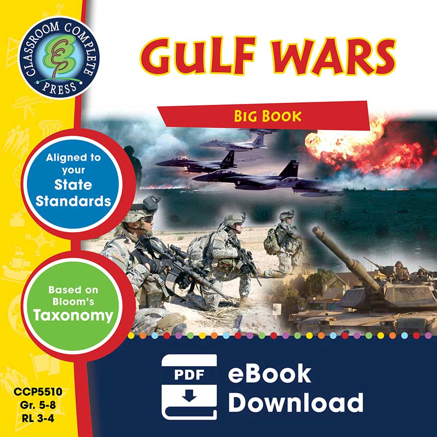 Gulf Wars Big Book Gr. 5-8 - eBook