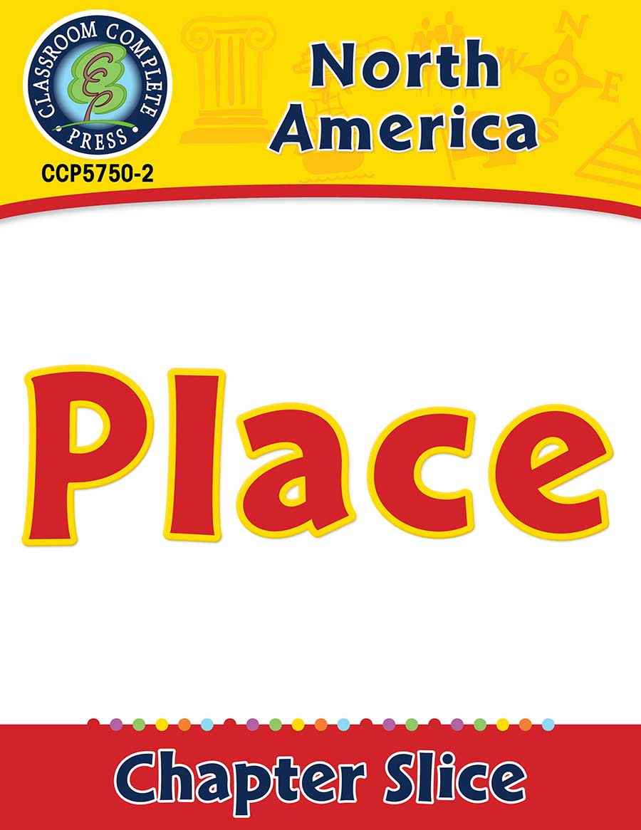 North America: Place Gr. 5-8 - Chapter Slice eBook