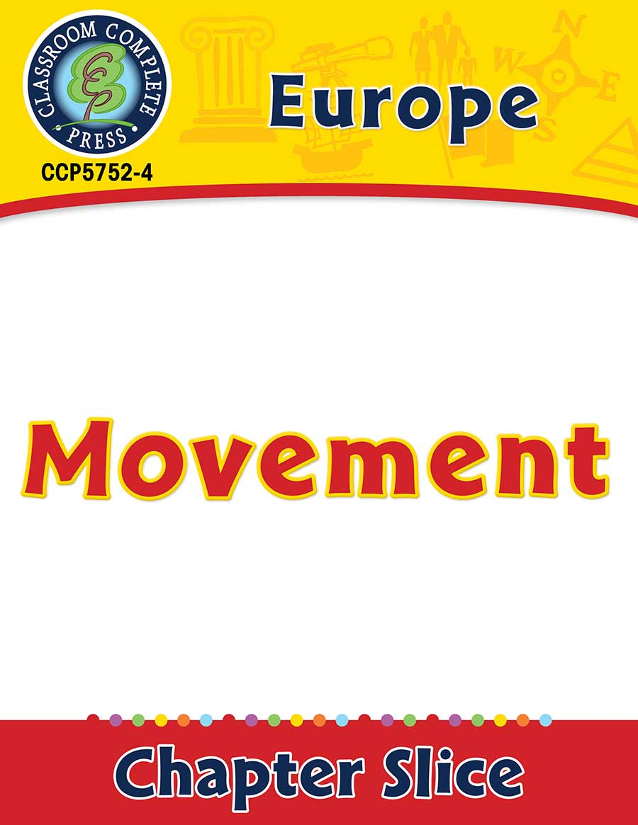 Europe: Movement Gr. 5-8 - Chapter Slice eBook