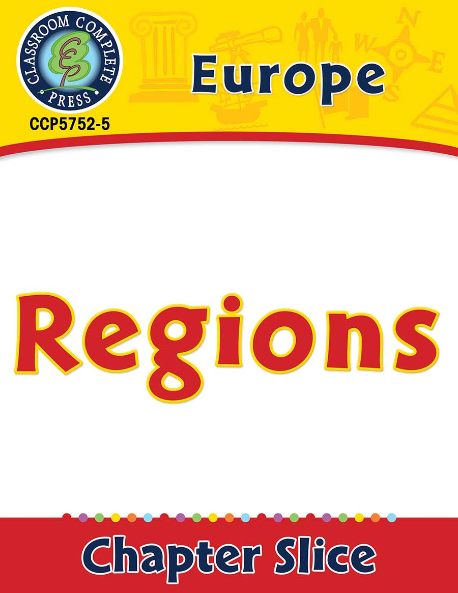 Europe: Regions Gr. 5-8 - Chapter Slice eBook