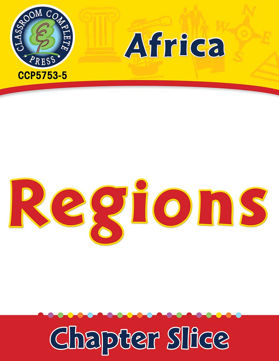 Africa: Regions Gr. 5-8 - Chapter Slice eBook