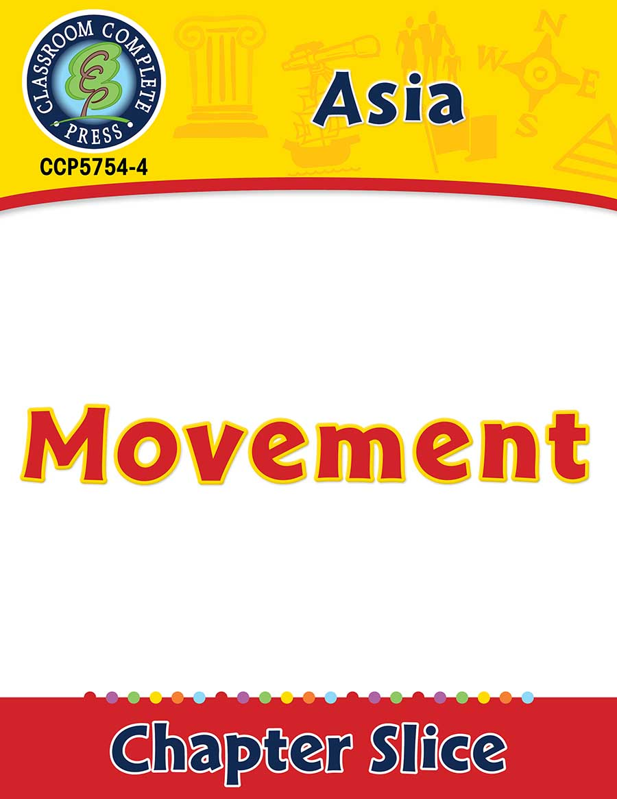 Asia: Movement Gr. 5-8 - Chapter Slice eBook