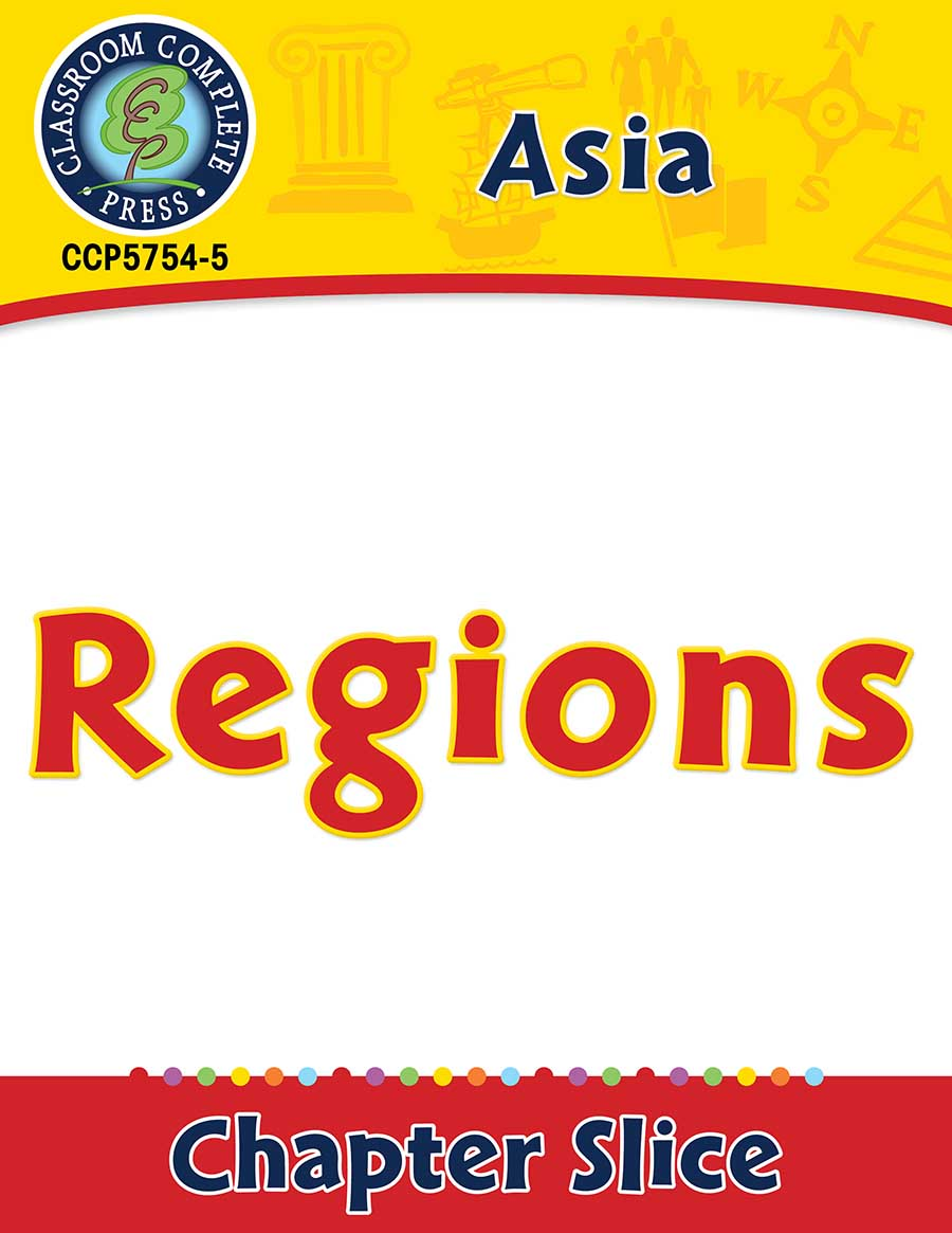 Asia: Regions Gr. 5-8 - Chapter Slice eBook