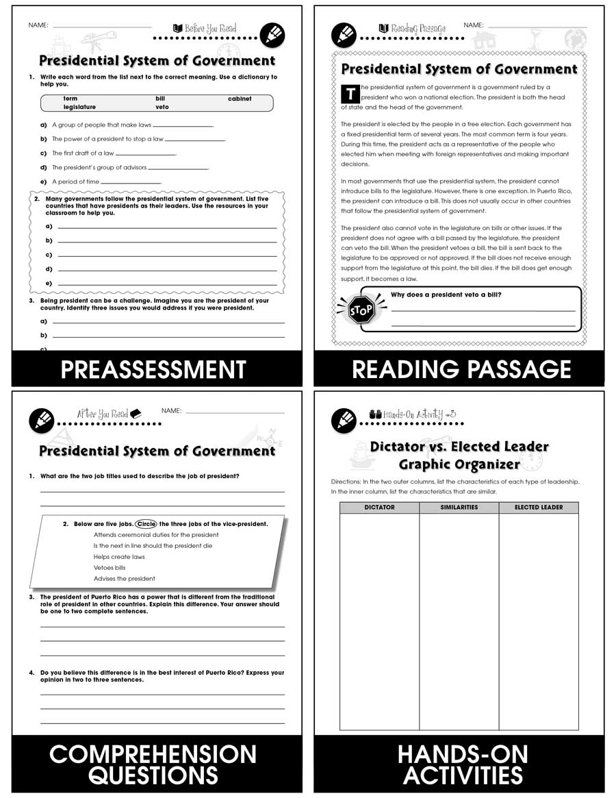 The Electoral Process Worksheet Answers