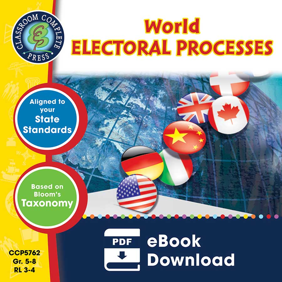 World Electoral Processes Gr. 5-8 - eBook