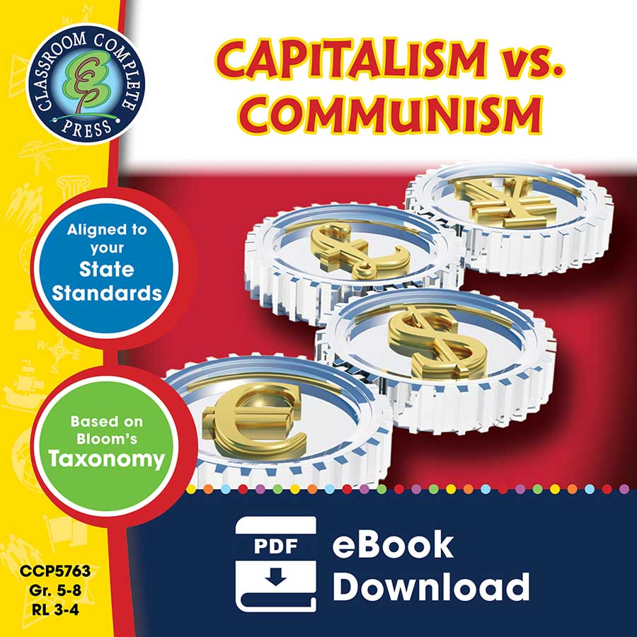 Capitalism vs. Communism Gr. 5-8 - eBook