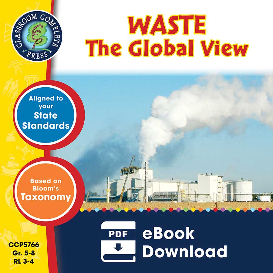 Waste: The Global View Gr. 5-8 - eBook