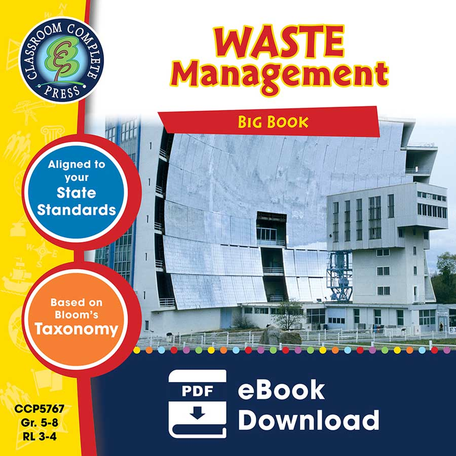 Waste Management Big Book Gr. 5-8 - eBook
