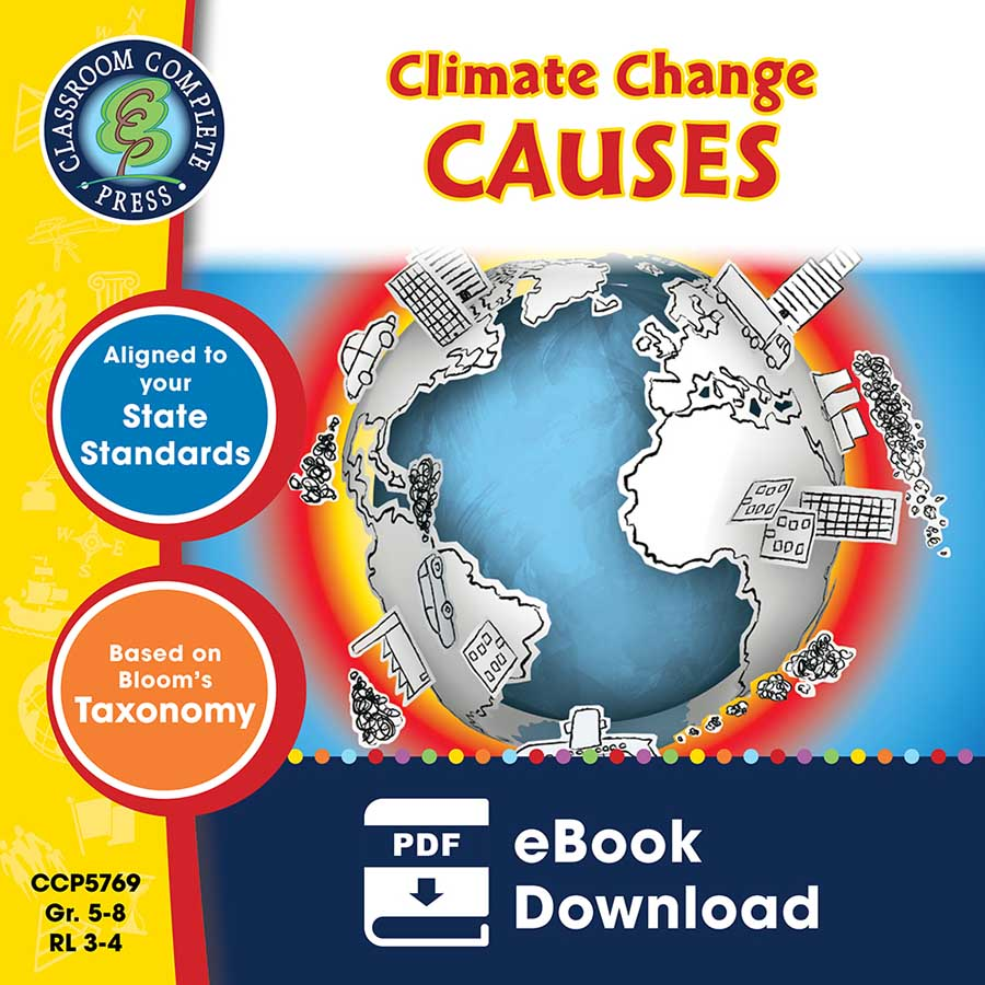Climate Change: Causes Gr. 5-8 - eBook