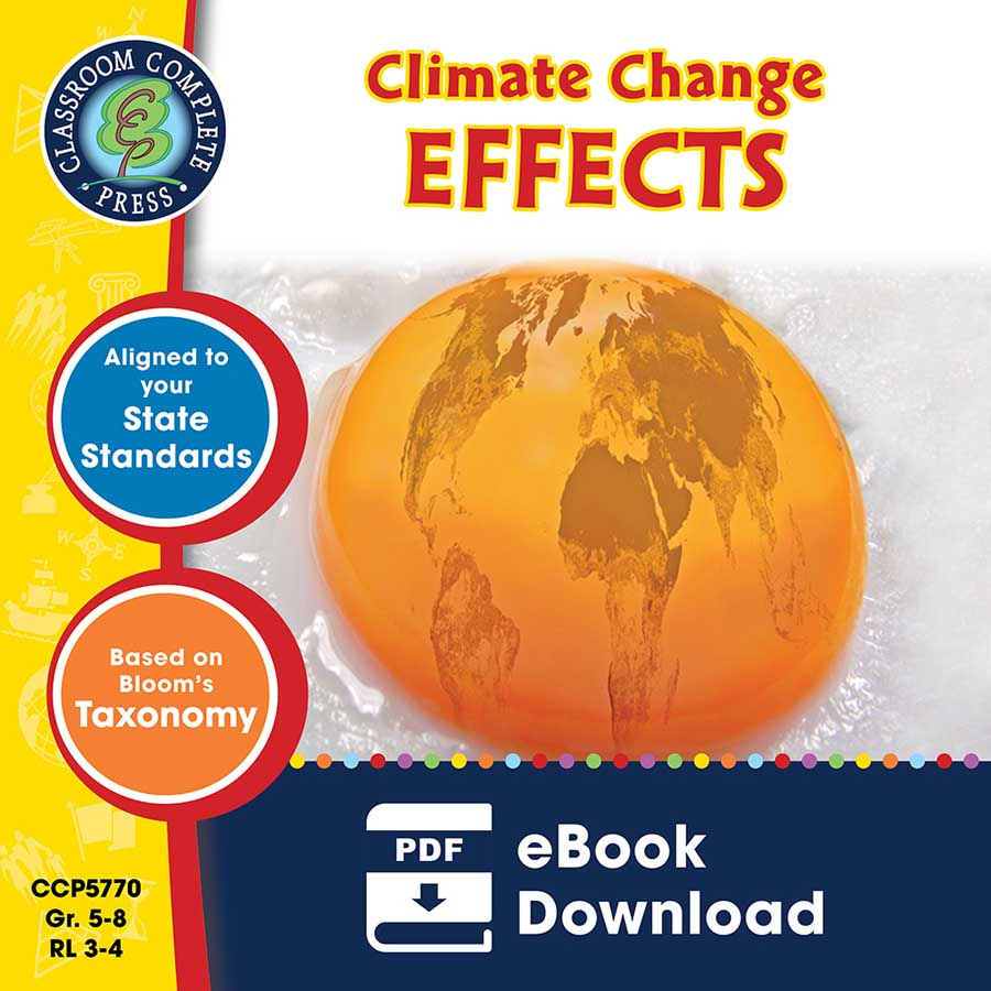 Global Warming: Effects Gr. 5-8 - eBook