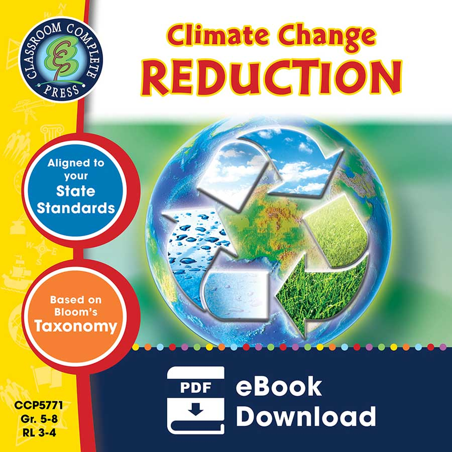 Global Warming: Reduction Gr. 5-8 - eBook