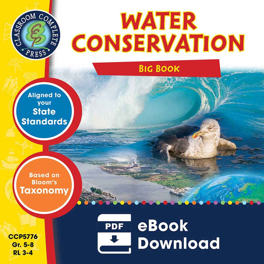 Water Conservation Big Book Gr. 5-8 - eBook