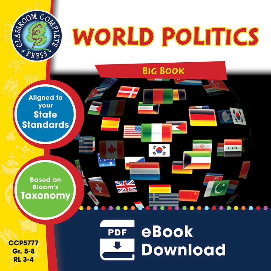 World Politics Big Book Gr. 5-8 - eBook