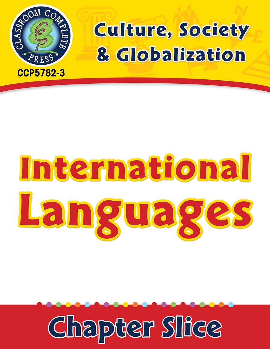 Culture, Society & Globalization: International Languages Gr. 5-8 - Chapter Slice eBook