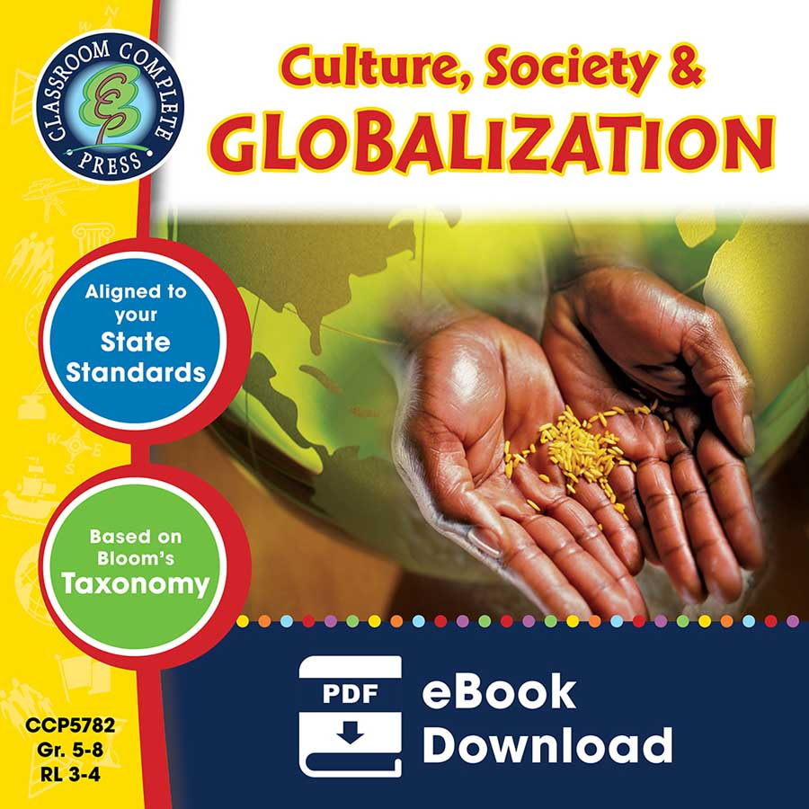 Culture, Society & Globalization Gr. 5-8 - eBook