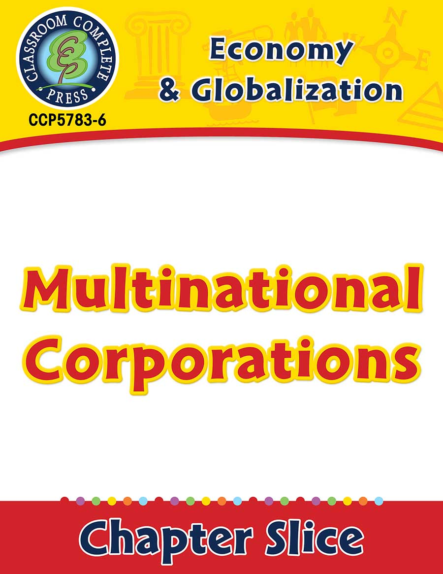 Economy & Globalization: Multinational Corporations Gr. 5-8 - Chapter Slice eBook