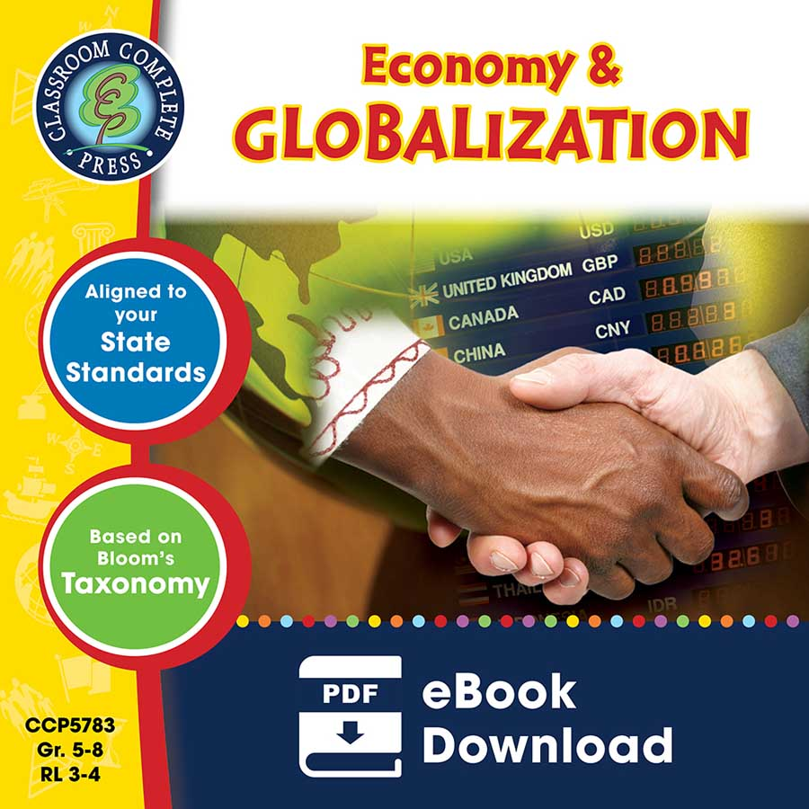 Economy & Globalization Gr. 5-8 - eBook