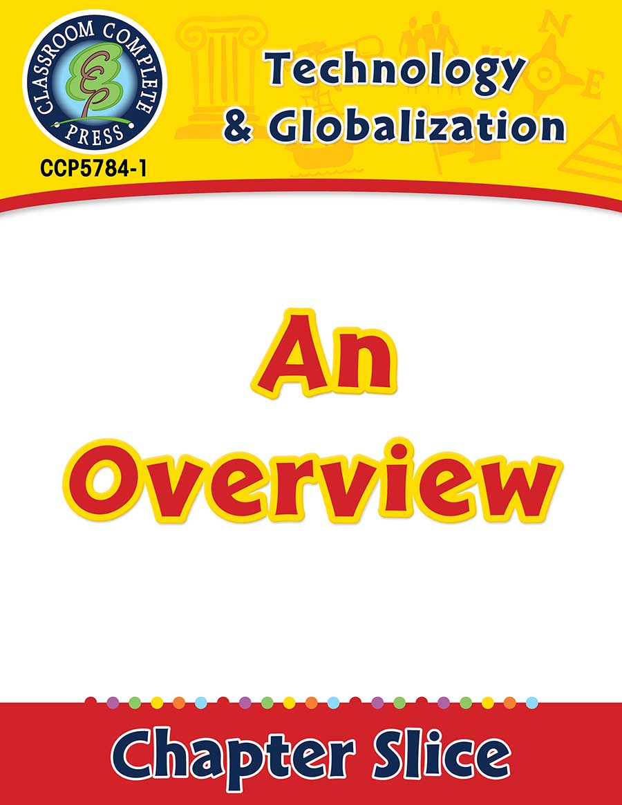 Technology & Globalization: An Overview Gr. 5-8 - Chapter Slice eBook