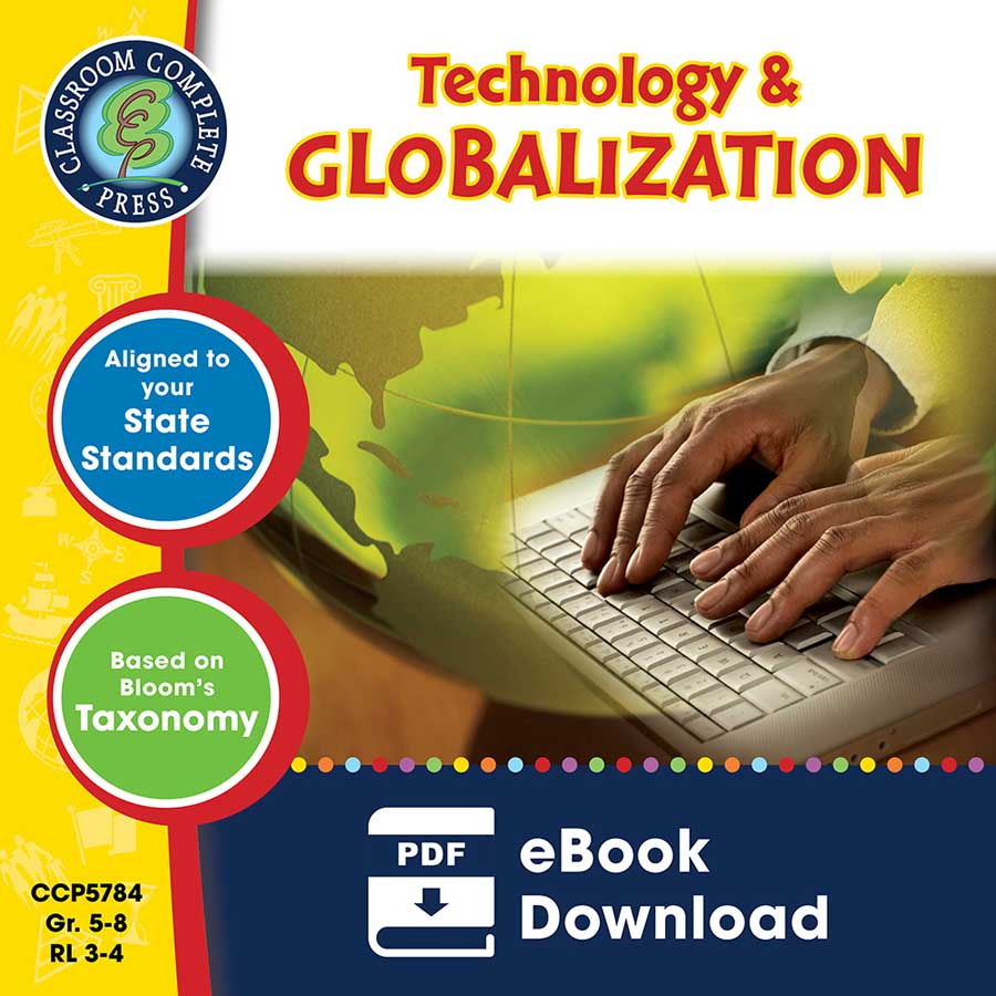 Technology & Globalization Gr. 5-8 - eBook