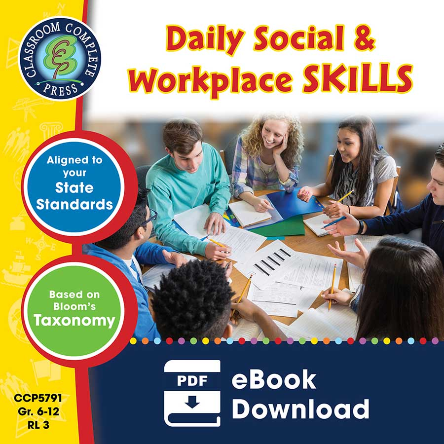 Daily Social & Workplace Skills Gr. 6-12 - eBook