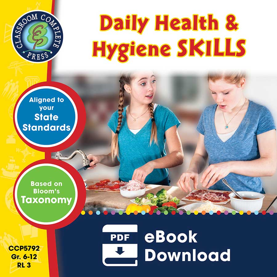 Daily Health & Hygiene Skills Gr. 6-12 - eBook