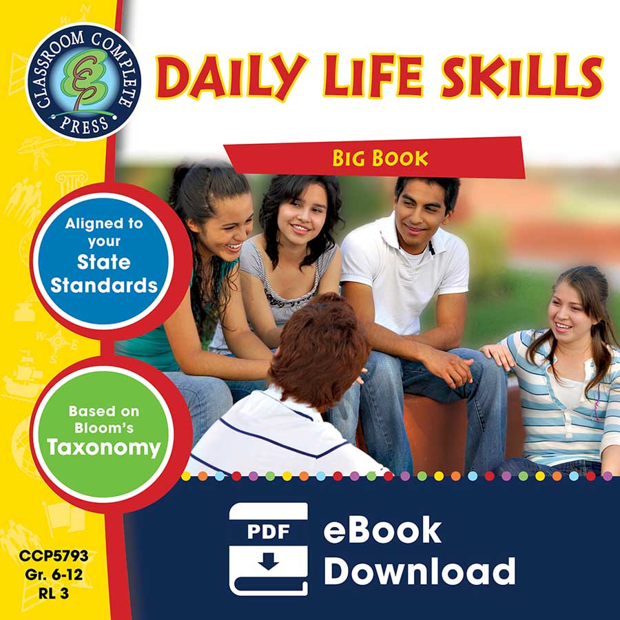Daily Life Skills Big Book Gr. 6-12 - eBook