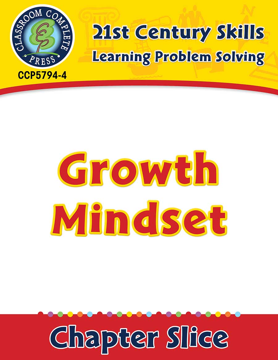 Learning Problem Solving: Growth Mindset Gr. 3-8+ - Chapter Slice eBook