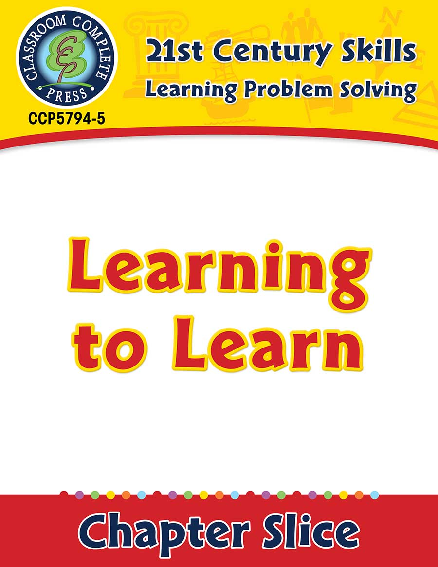 Learning Problem Solving: Learning to Learn Gr. 3-8+ - Chapter Slice eBook