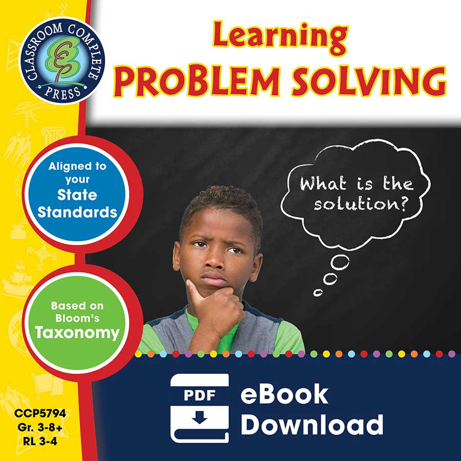 21st Century Skills - Learning Problem Solving Gr. 3-8+ - eBook
