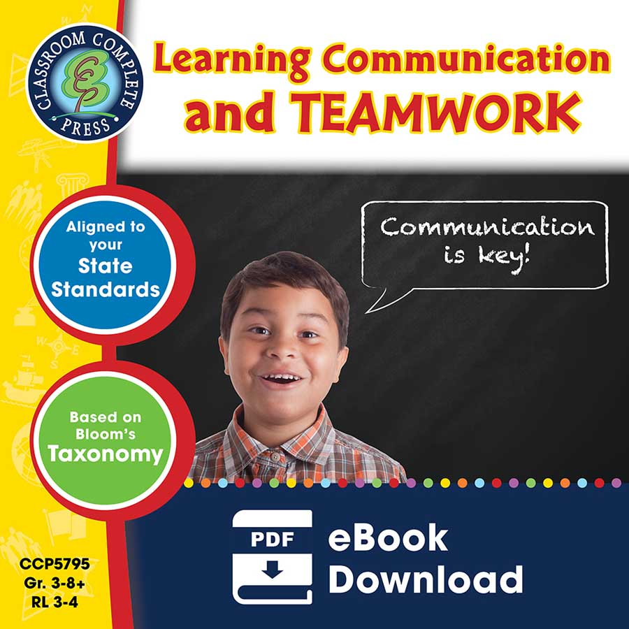 21st Century Skills - Learning Communication & Teamwork Gr. 3-8+ - eBook