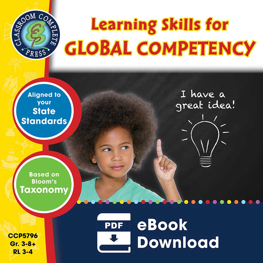 21st Century Skills - Learning Skills for Global Competency Gr. 3-8+ - eBook