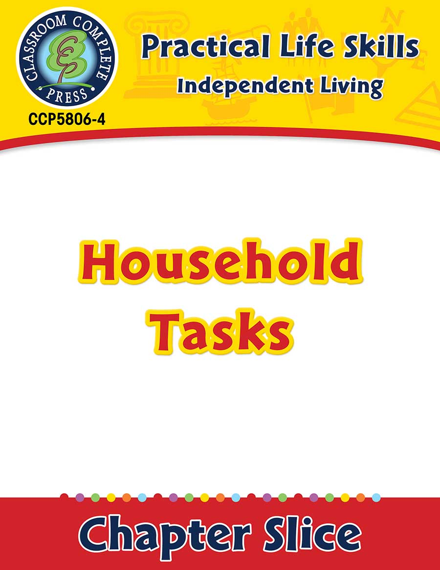 Independent Living: Household Tasks Gr. 9-12+ - Chapter Slice eBook