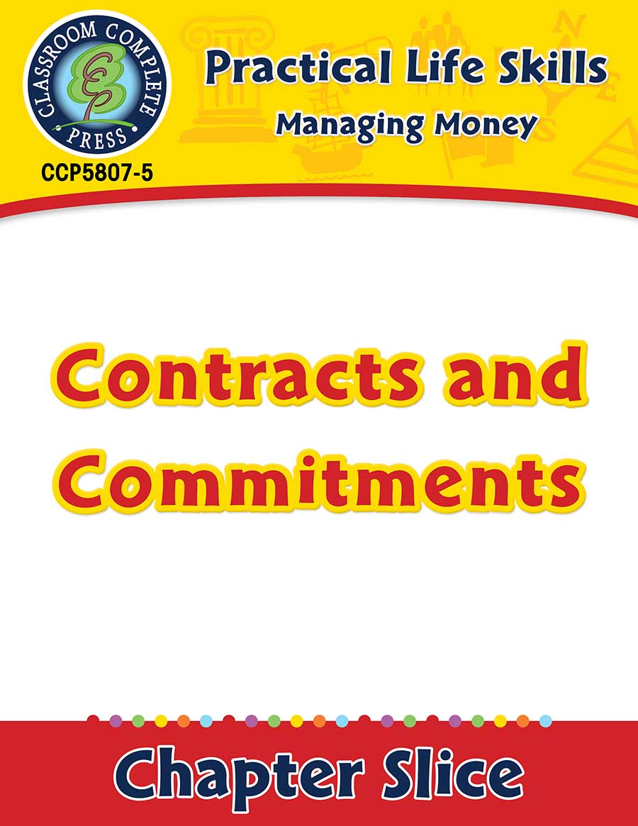 Managing Money: Contracts & Commitments Gr. 9-12+ - Chapter Slice eBook