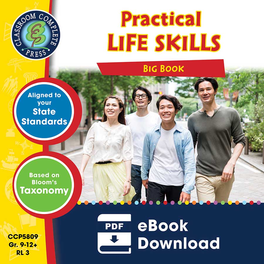 Practical Life Skills Big Book Gr. 9-12+ - eBook