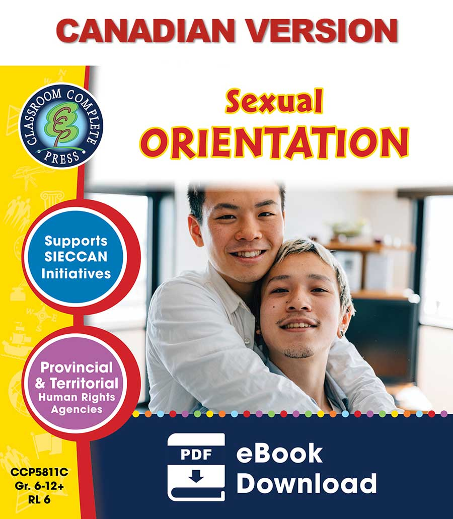 Sexual Orientation - Canadian Content Gr. 6-Adult - eBook