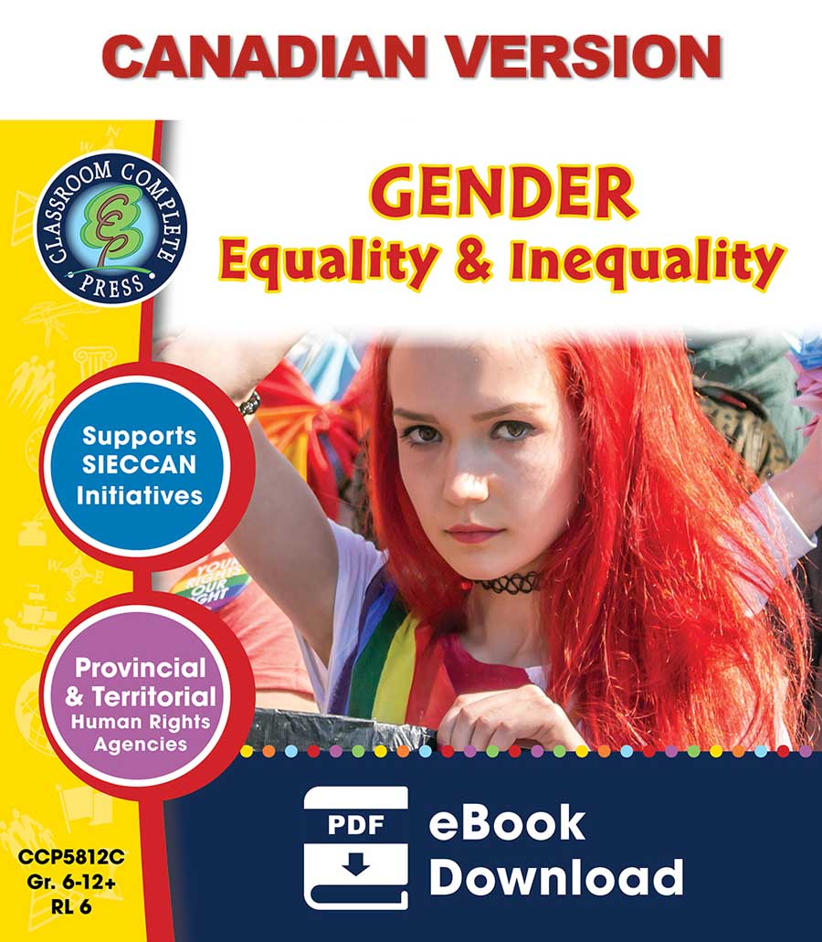 Gender Equality & Inequality - Canadian Content Gr. 6-Adult - eBook