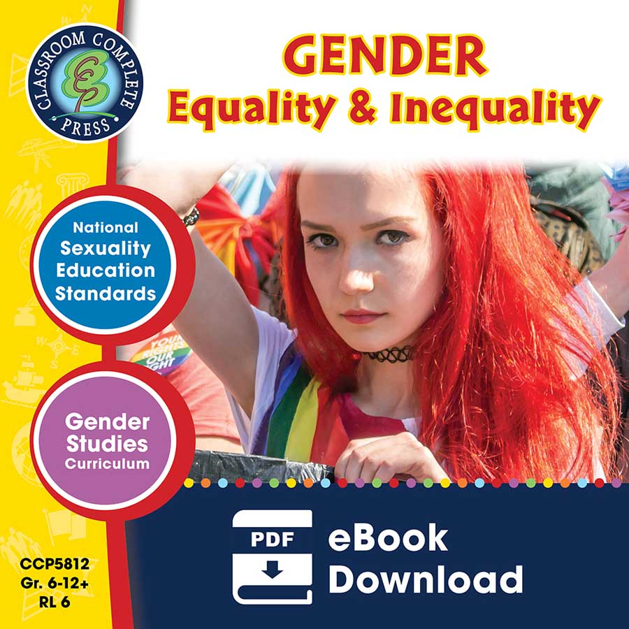 Gender Equality & Inequality Gr. 6-Adult - eBook