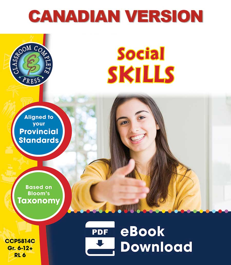 Real World Life Skills - Social Skills - Canadian Content Gr. 6-12+ - eBook