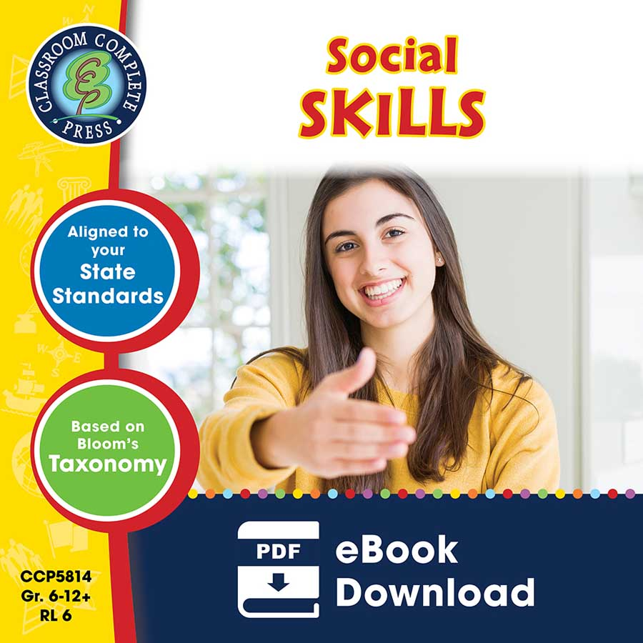 Real World Life Skills - Social Skills Gr. 6-12+ - eBook