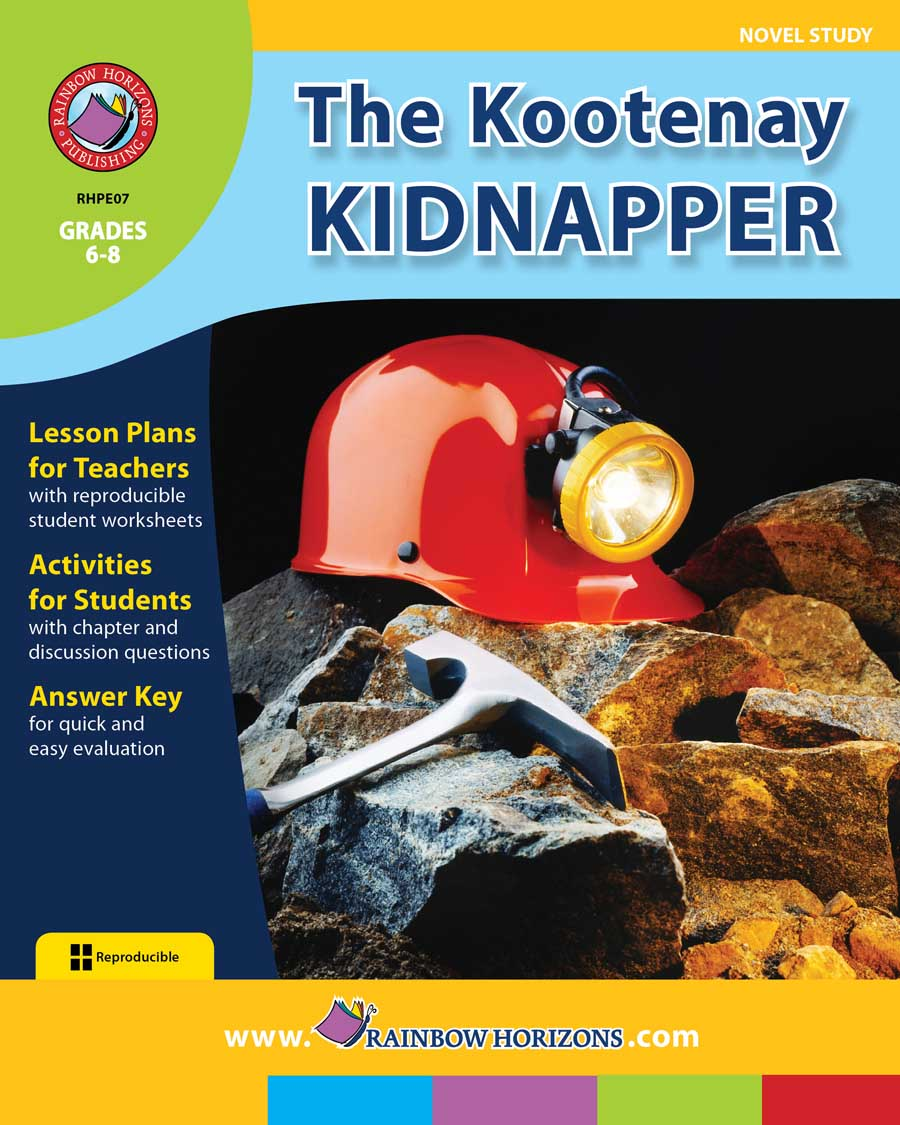 The Kootenay Kidnapper (Novel Study) Gr. 6-8 - print book